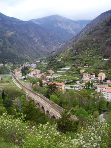 The town of Ste-Dalmas de Tende